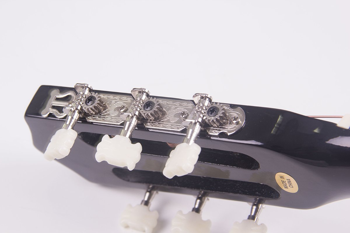 Polar Aurora Electric Acoustic Guitar Cutaway Design With Guitar Case, Strap Black New