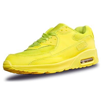 3a989c18654 Lanchengjieneng Femmes Mode Air Running Trainer Respirant Jogging Fitness  Baskets Casual Chaussures De Marche Noir EU