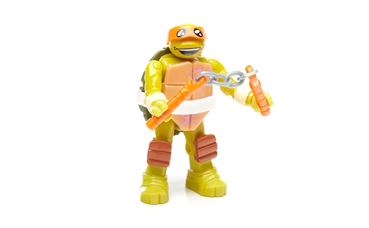 Amazon.com: Mega construx Teenage Mutant Ninja Turtles Mikey ...