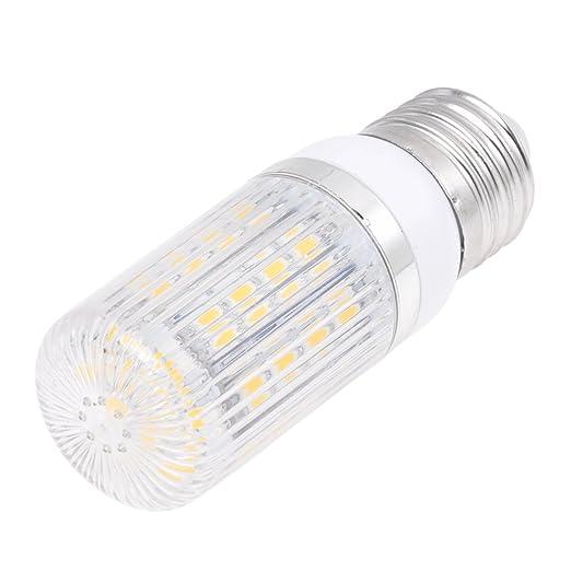 TOOGOO(R) E27 36 5050 SMD Bombilla LED de focos de alta potencia 6W