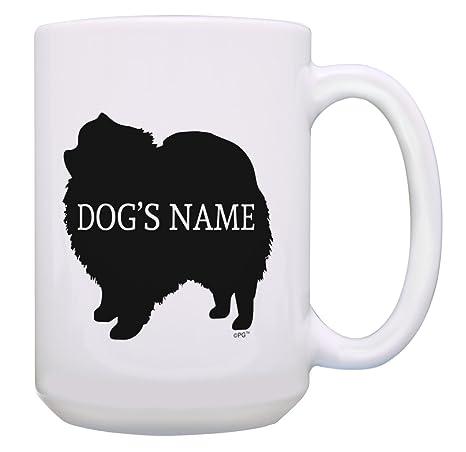 Amazon Com Personalized Pomeranian Dog Gift Add Dog S Name Mug