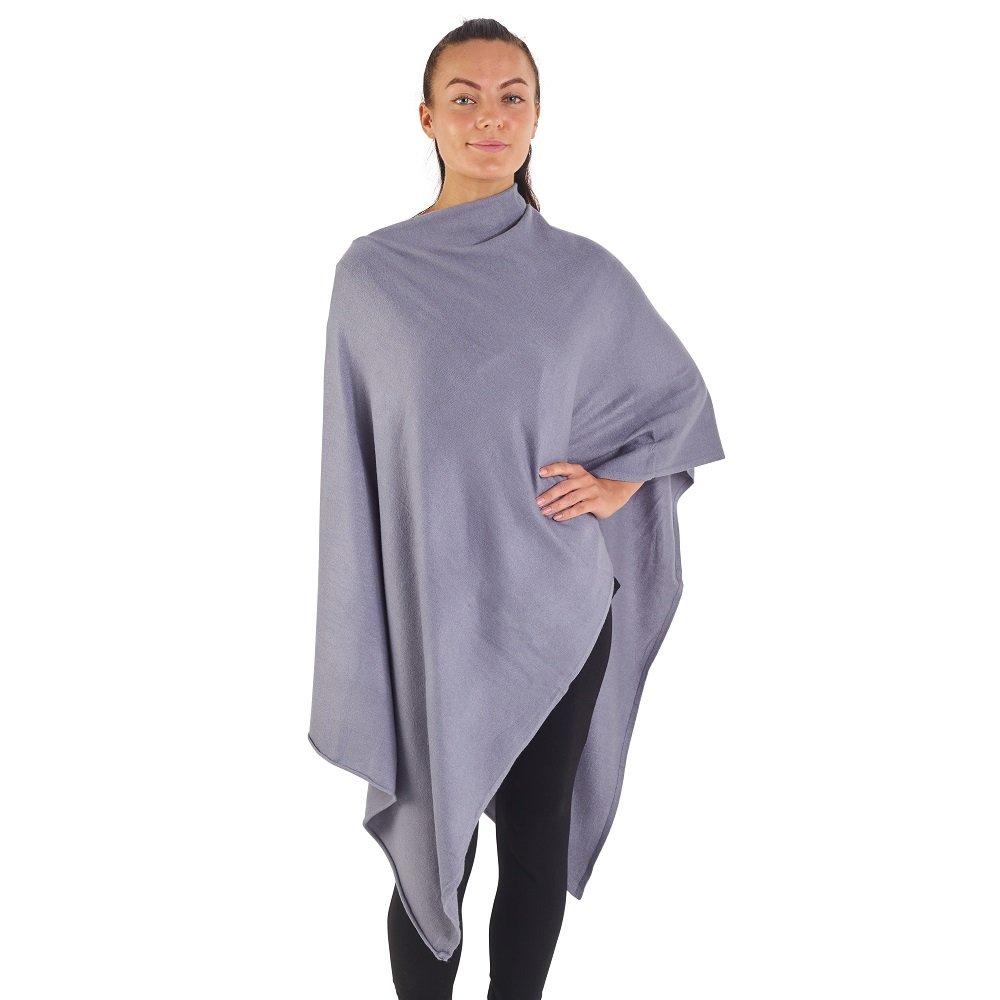 CityComfort Poncho Pullover per Donna Morbida Mantella Triangolare