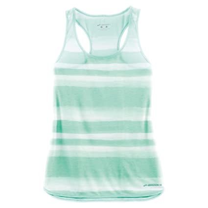 3f4cfb07ea500a Image Unavailable. Image not available for. Color  Brooks Women s Ghost  Racerback Top Surf Scape Tank ...