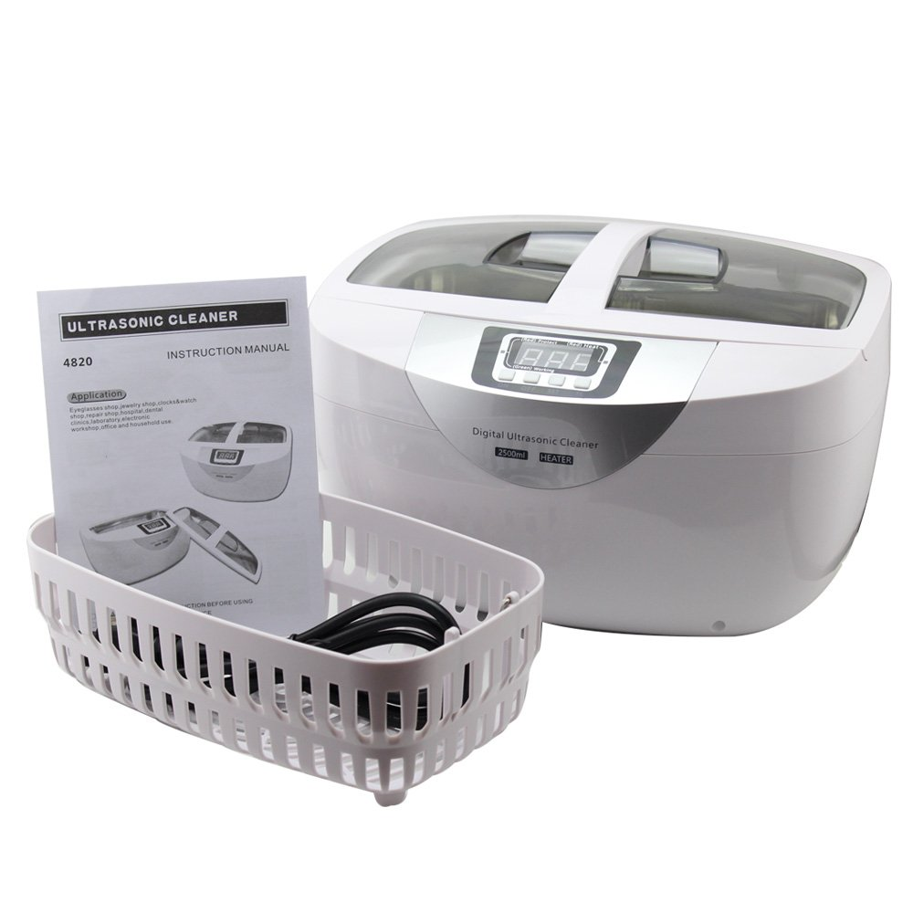 2500ml Professional Ultrasonic Cleaner for Medical and Dental Clinics, Tattoo Shops, Scientific Labs and Golf Clubs. Jewelers, Opticians, Watchmakers, Antique Dealers and Electronics Workshops