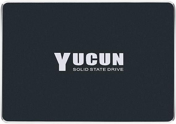 TALLA 240GB. YUCUN 2.5 Pulgadas SATA III Disco Duro sólido Interno de Estado sólido 240GB SSD