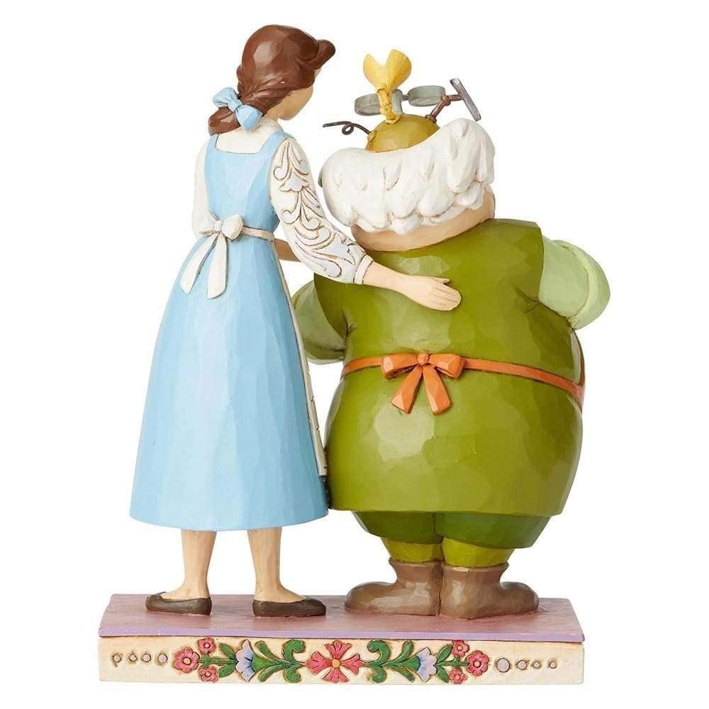 Enesco Disney Traditions by Jim Shore Belle and Maurice The Inventor
