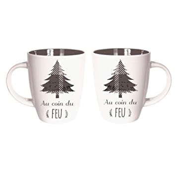 Home Au Deco The Noël Chalet Cmp Mug Sapin X2 Factory 0wN8nvm