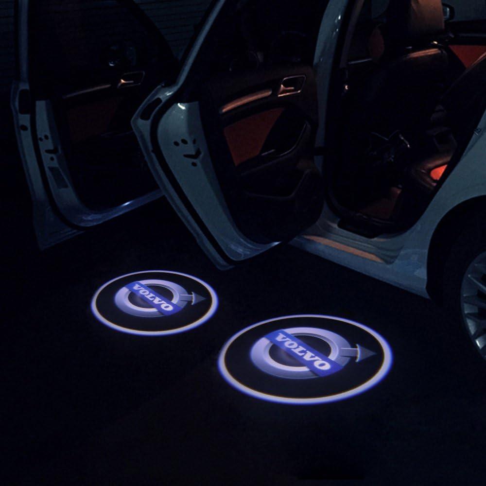 RCJ- Luz LED para puerta de coche, proyector láser de bienvenida ...