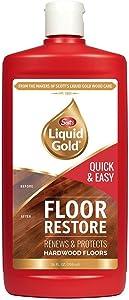 Scott's Liquid Gold Floor Restore- Renews & Protects Hardwood Floors - Pack of 2