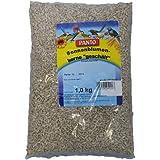 Panto Sonnenblumenkerne geschält (ideal für Terrasse, Balkon und Garten für eine schalenlose Fütterung ohne Rückstände, 1er Pack (1 x 1000 g)