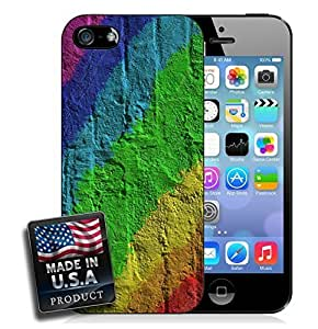 Rainbow Concrete Wall For Ipod Touch 4 Phone Case Cover Hard Case