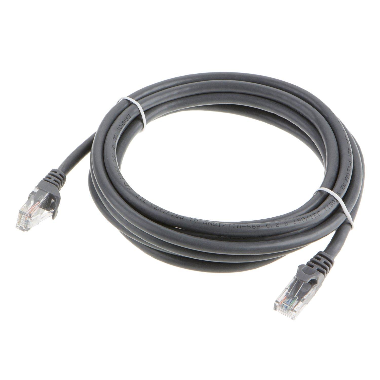 Cable de conexión Ethernet Cat. 6 RJ45, de CableCreation, de 6,1 m, UTP 23 AWG, 100 % cobre, color gris: Amazon.es: Electrónica