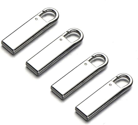 Hotaden Cremallera Herramientas de reparaci/ón de reemplazo tirones del Metal Sliders Cremalleras Rescue Kit para Las Maletas Chaquetas Bolsas 197 PCS