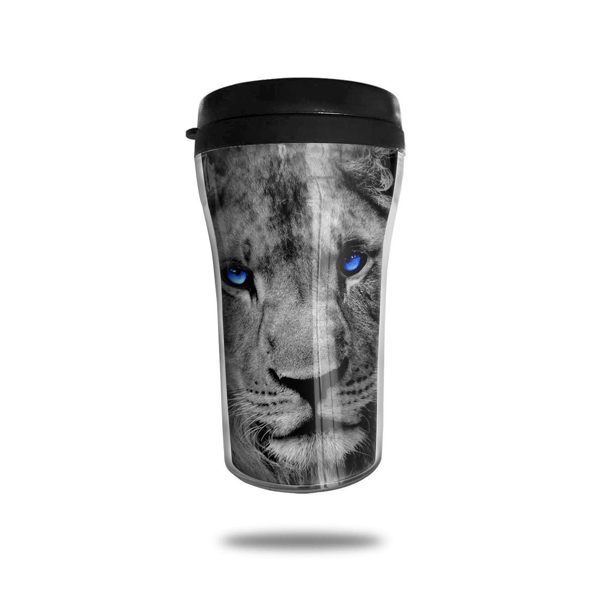 Bgejkos Vaso del Acero Inoxidable de la impresión del león ...