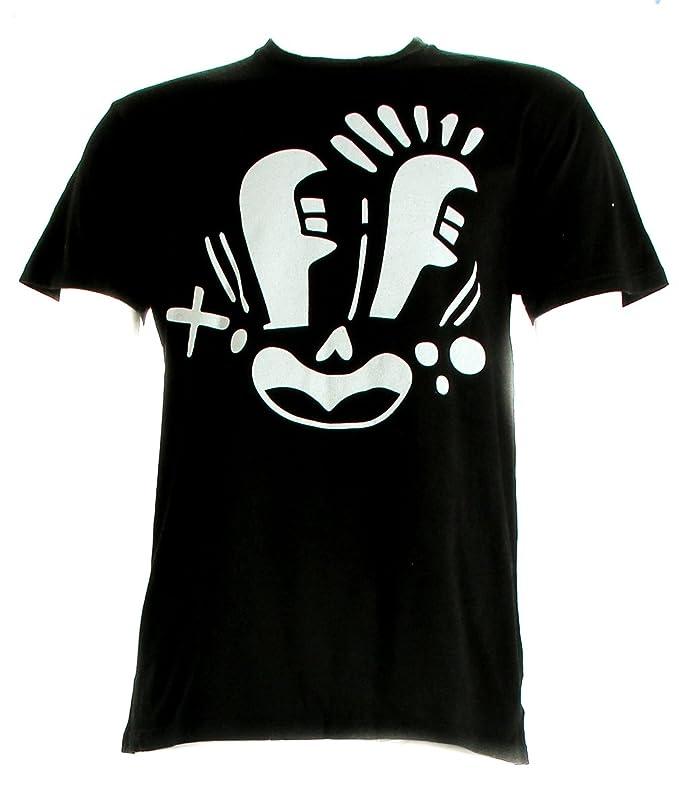 d58bcf5c6c90 Amazon.com  Pepsi Crew 3 Face T-Shirt Black Men s Size X-Large  Clothing