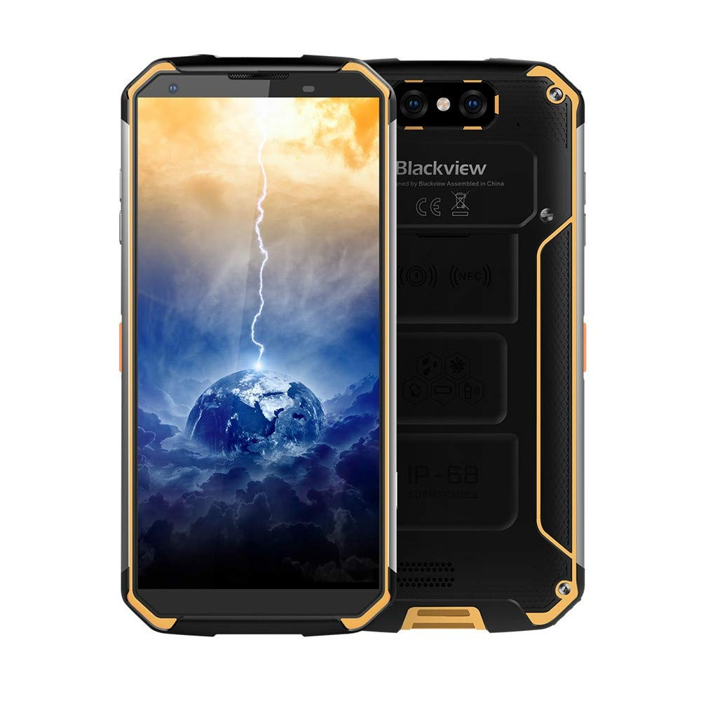 Smartphone BLACKVIEW BV9500 Android 8.1 4GB 64GB Octa Core 5.7 16mp DualSim LTE 4GB+64GB NFC (Yellow)