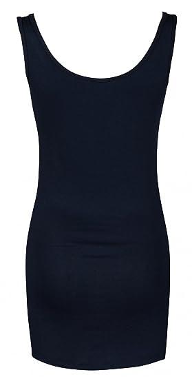 Para Mujer Camiseta Top premamá. Cuello Redondo. Sin Mangas. 792p: Amazon.es: Ropa y accesorios
