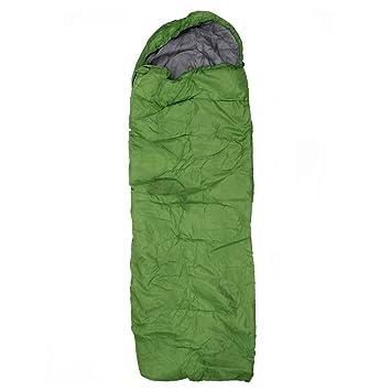 SODIAL (R) adulto único Camping resistente al agua traje de funda sobre saco de dormir, color naranja, verde: Amazon.es: Deportes y aire libre