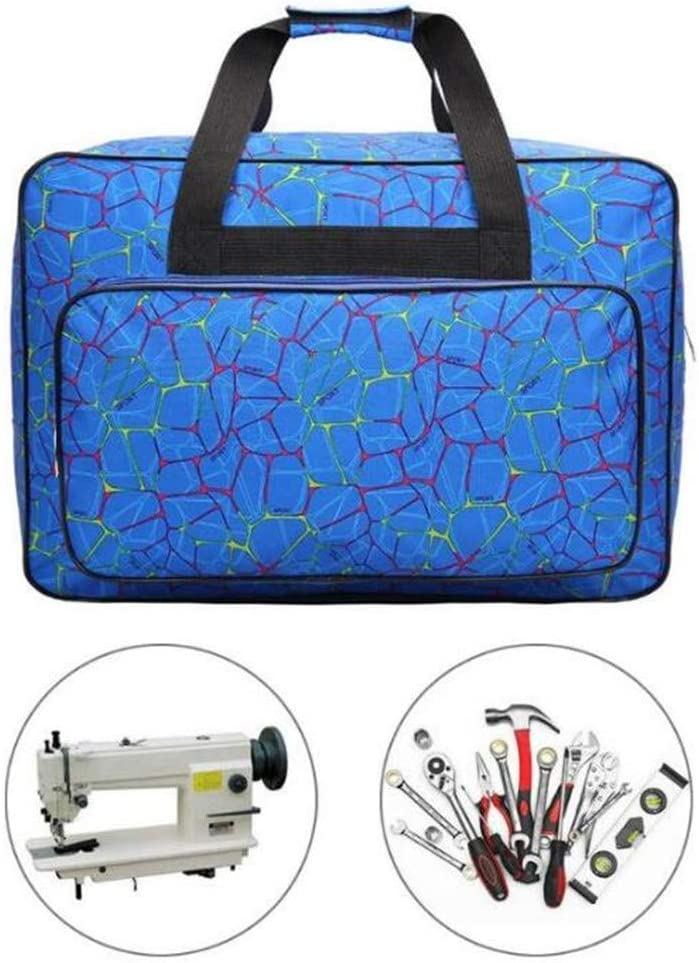 Sewing Machine Bag,Large Capacity Travel Tote Bag,Sewing Machine Storage Bags Sewing Organizer,Multi-Functional Sewing Tools Hand Bags Sewing Machine Carrying Cases Needlework Handbag Black,S