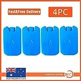 4X Ice Cooler Brick Pack Block Blocks Freezer Cooler Bag Box Travel 150ml Reuse