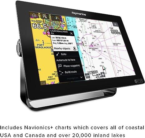 Raymarine - Pantalla Táctil con buscador de Peces Integrado y GPS - E70365-03-NAG, 17.8 cm (7