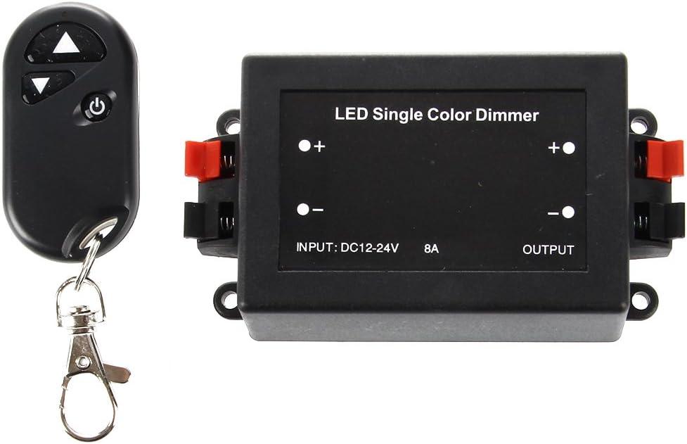 SODIAL(R) Regulador Led Iluminacion Dimmer Inalambrica 12v
