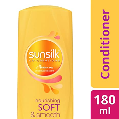 Sunsilk Nourishing Soft and Smooth Conditioner, 180ml