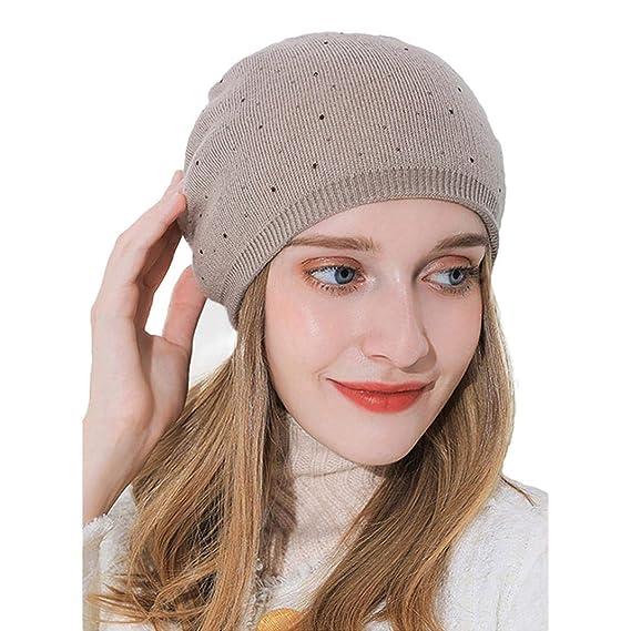 Longzjhd Leichte Und Dünne Jersey Mütze Beanie Für Damen Und Herren