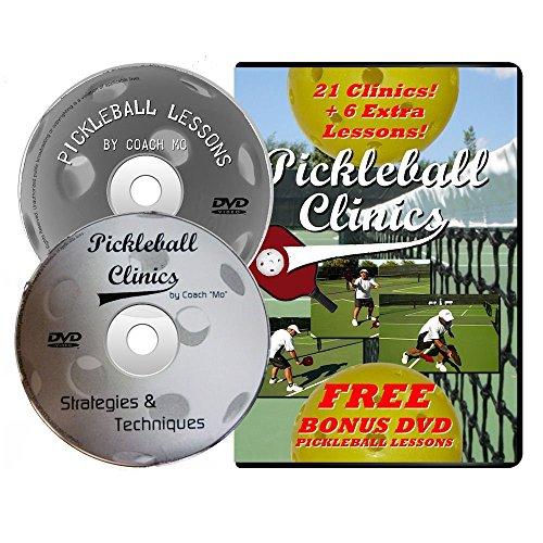 Pickleball Clinics DVD with Bonus Lessons DVD