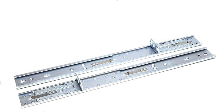FOR DELL 5PX47 Genuine OEM Dell EMC Server Add-On Extension Rail C1VJH Pair Adjustable Length 17.8x1.65 Inch 1U Post Rack Rails