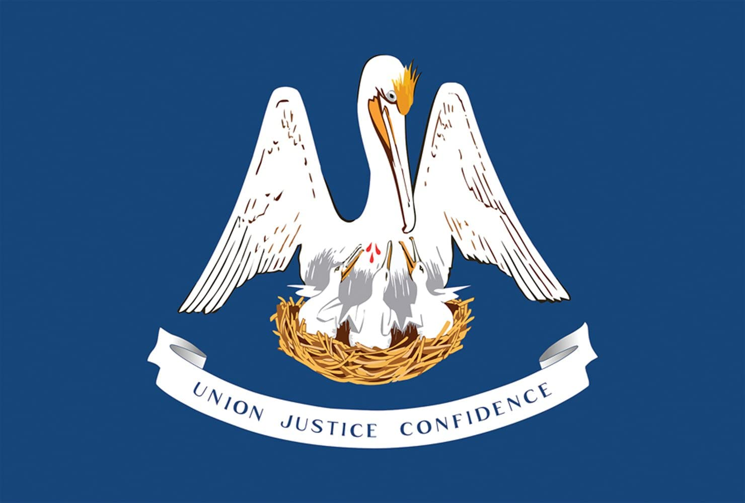 Toland Home Garden Louisiana State Flag 12.5 x 18 Inch Decorative USA Garden Flag
