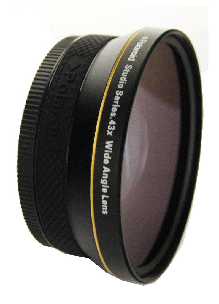 Polaroid Studio Series .43X HD Wide Angle Lens 72mm by Polaroid