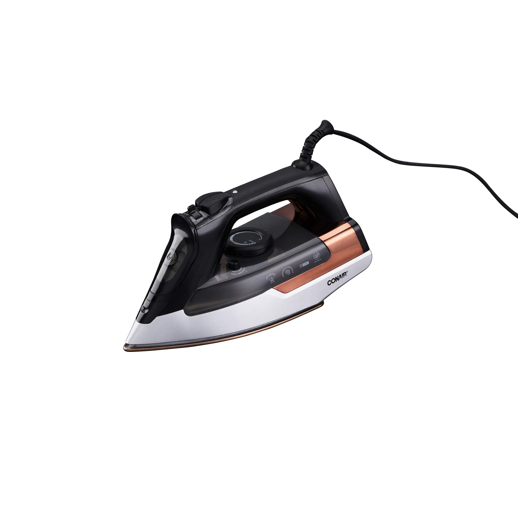 Conair Extreme Steam Pro Steam Clothing Iron, 1875-Watts with Nano Titanium Soleplate Iron by Conair