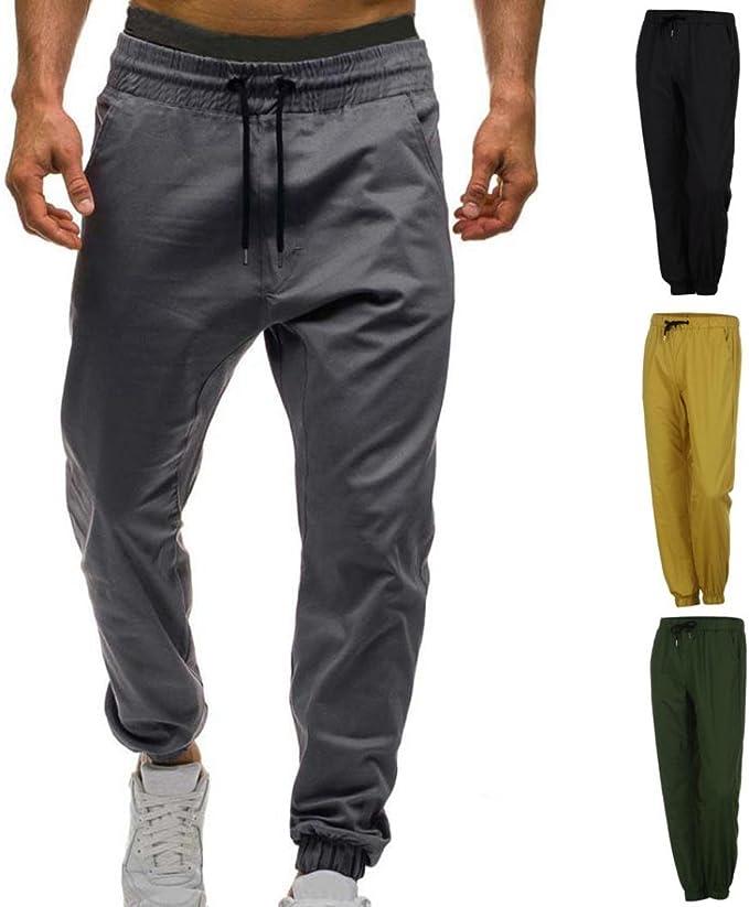 Pantalones Casuales para Hombre Chándal De Jogger para Hombre ...