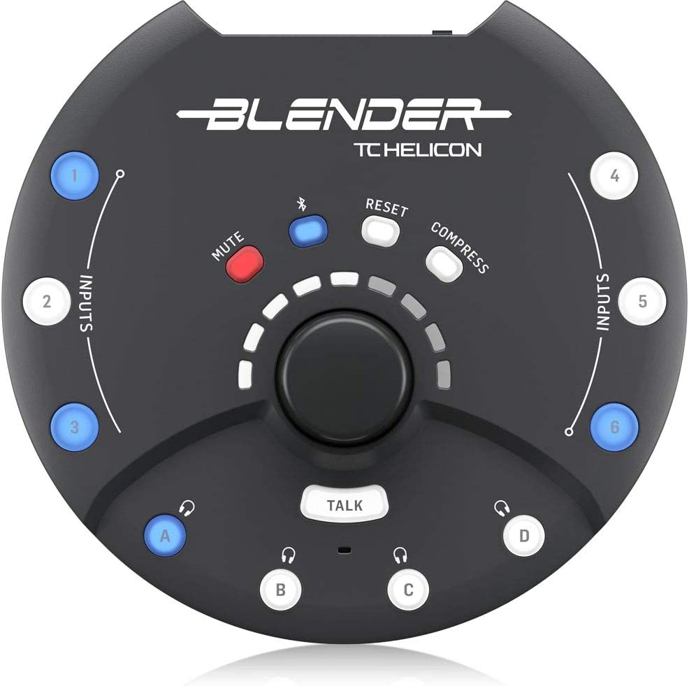 TC HELICON Blender - Portable Mixer with USB