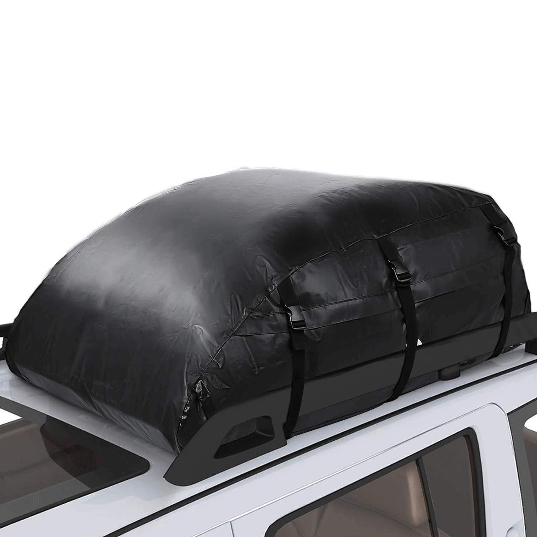 Pujuas Roof Bag 425L 600D Waterproof Roof Bag