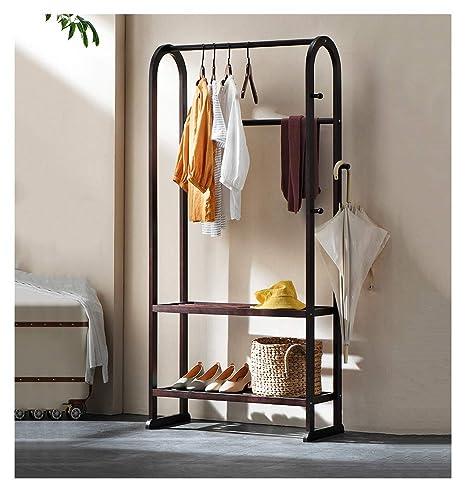 Amazon.com: ZCYX Modern Solid Wood Coat Rack Hanger Floor ...