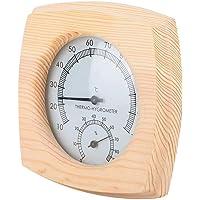 Jeffergarden Wooden Sauna Room Digital Thermometer Hygrometer Humidity Temperature Meter
