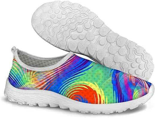 POLERO - Zapatillas ligeras para mujer con suela suave para primavera y verano (36-45): Amazon.es: Zapatos y complementos