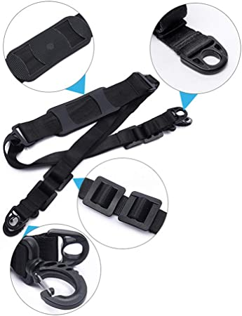 Linghuang Scooter Shoulder Strap For Xiaomi Mijia M365 Electric Scooter Adjustable Carrying Strap Kids Bikes Foldable Bicycle Accessories Sport Freizeit