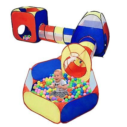 Amazon.com: LOJETON - Juego de 5 túneles para niños con aro ...