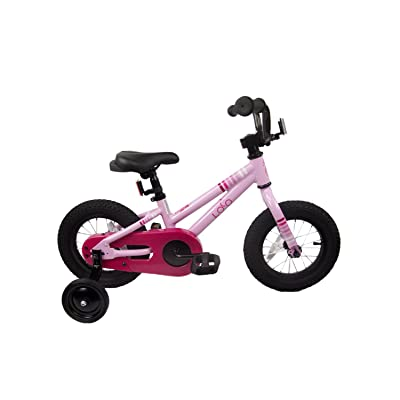"Loco Kids Aluminum Bicycle Girls 16"" Pink - The Baby Pink : Sports & Outdoors"