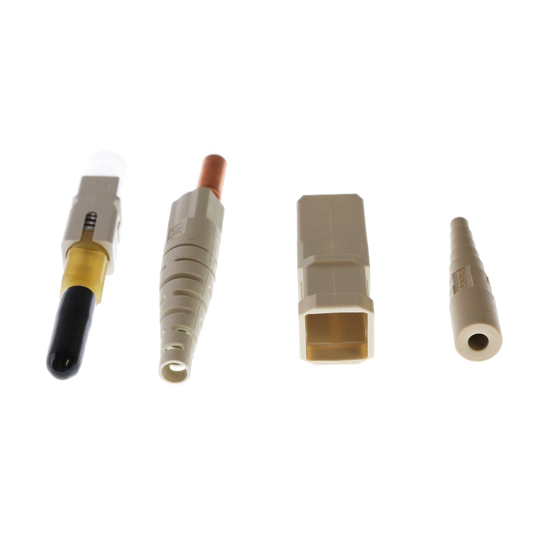 Composite Ferrule QualConnectTM Corning 95-000-40 SC Fiber Optic Unicam Connector 62.5//125