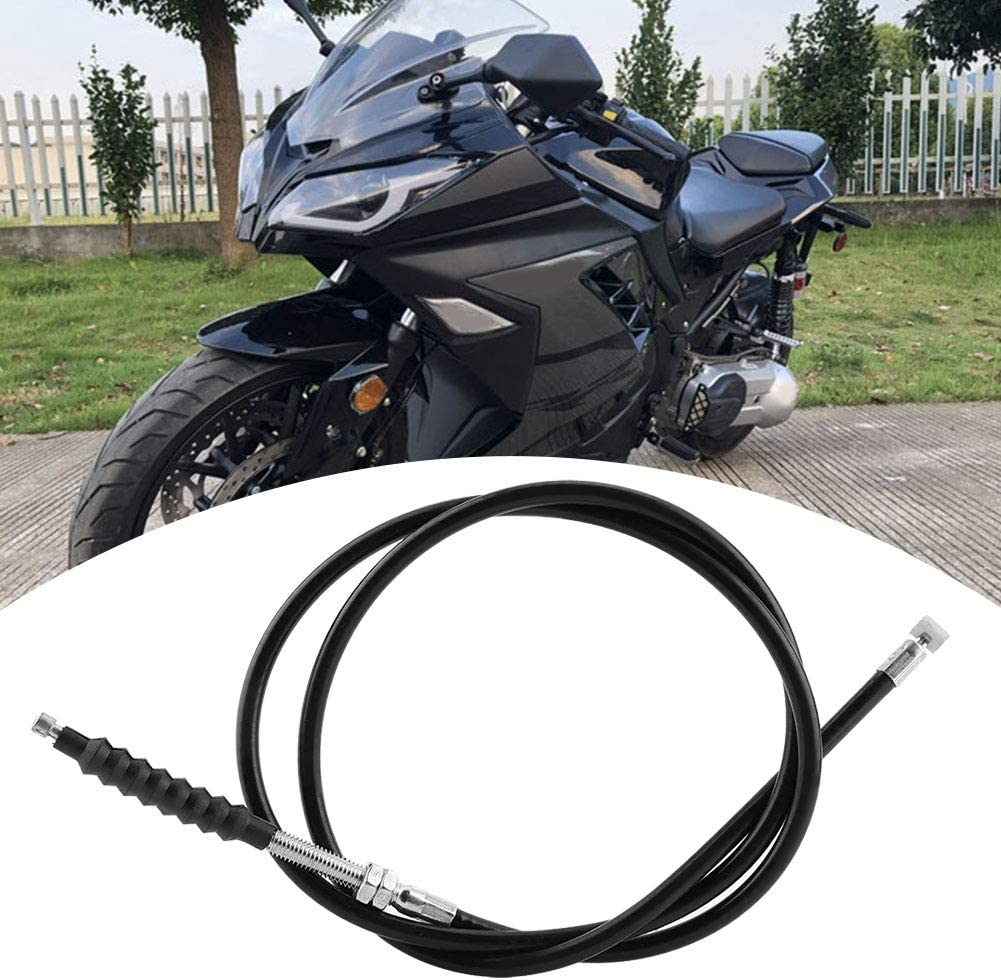 Clutch Cable PVC Plastic Motorcycle Clutch Cable Linkage Line 47.2 Inch Motorbike ATV Clutch Cable for 150cc 200cc 250cc ATVs Dirt Bikes /& Scooters Universal
