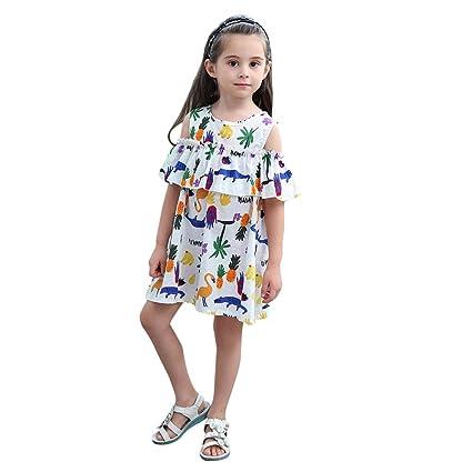 6e176c8ec95 Amazon.com: Gufenban Baby Girl Pageant Flower Girl Dress Kids Fancy ...