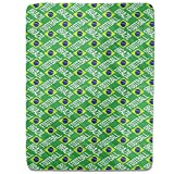 Brazilian Football Fitted Sheet: King Luxury Microfiber, Soft, Breathable