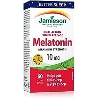 Jamieson Melatonin 10 mg Dual Action Time Release