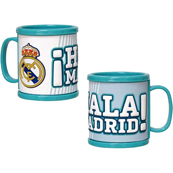 Real Madrid MG-14-RM Taza Rubber: Amazon.es: Juguetes y juegos