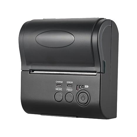 Amazon.com: POS-8001DD - Mini impresora térmica portátil ...