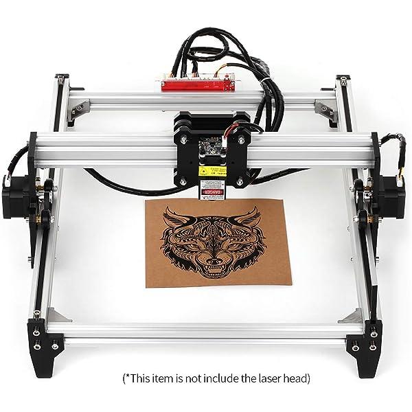 Kit de máquina de grabado láser CNC 3000mw, MYSWEETY 65x50cm ...